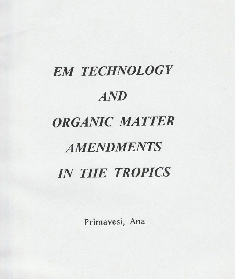 technology-and-organic-matter