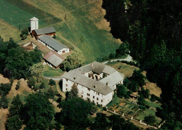 Vista de cima do Castelo de Pichlhofen