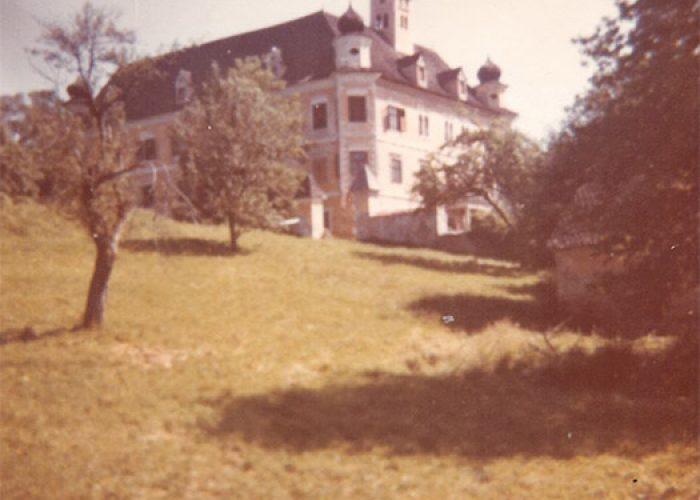 Castelo de Spielberg, na Áustria, onde a família da mãe de Ana Primavesi passava os verões.
