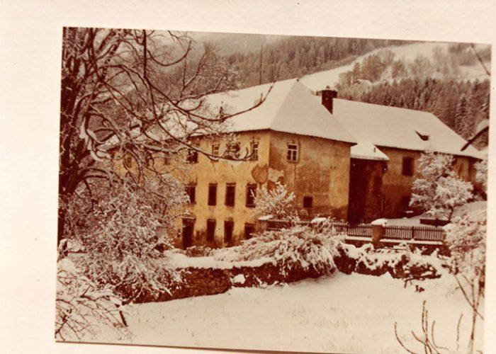 Pichlhofen no inverno.