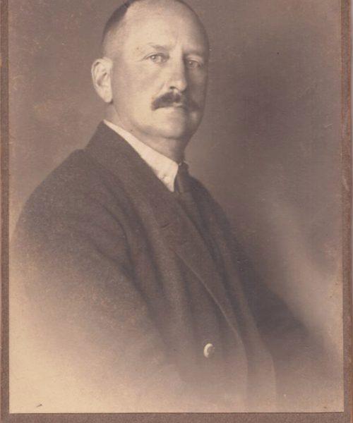 O sogro de Ana, Artur Primavesi em 1939.