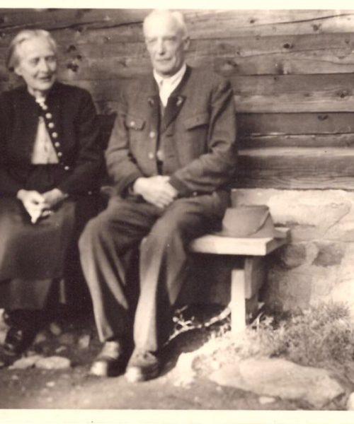 Clara e Sigmund, pais de Ana Primavesi.