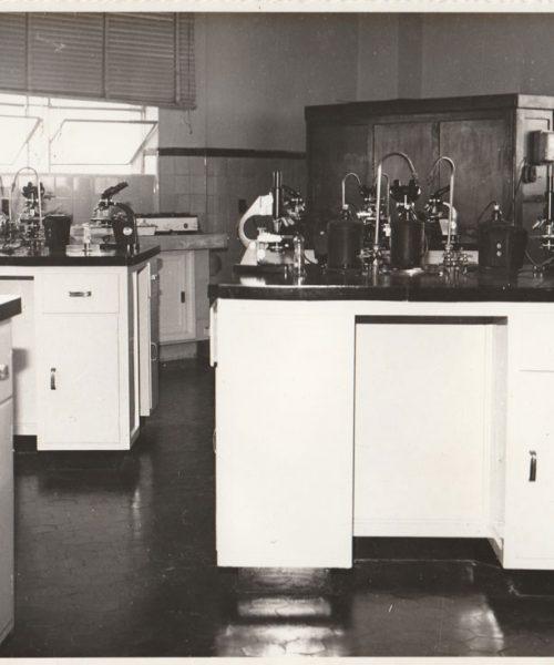 Laboratório de biologia da Universidade de Santa Maria