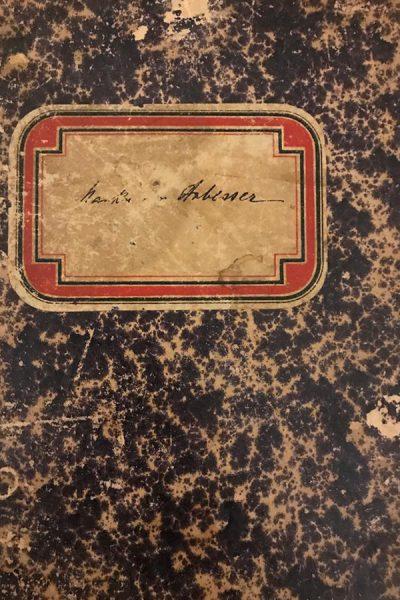 Livro de receitas de Clara, mãe de Ana